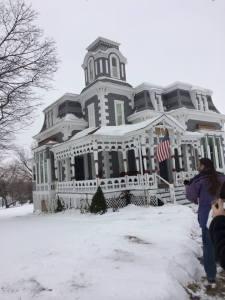 Snow photo_house